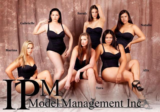 plus size model agency